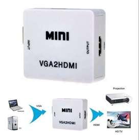 Convertidor / Adaptador Vga A Hdmi + Audio - Pc Y Portátiles (domicilio gratis ) $34.900
