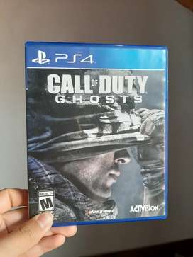 Call of Duty Ghots ps4