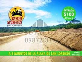 IDEAL PARA TU FINCA O CASA DE CAMPO, VENTA DE LOTES DESDE 1.000M2 CON CREDITO DIRECTO, PILE MONTECRISTI, SD1