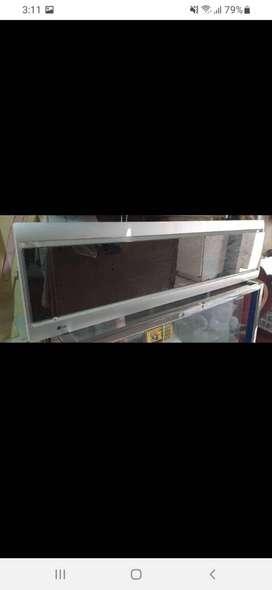 Aire acondicionado LG tipo espejo  18000 btu