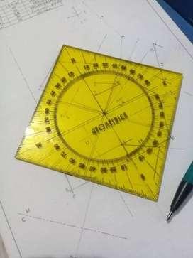 Rumbometro / Geometria descriptiva