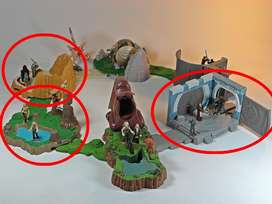 Colección Star Wars Action Fleet Mini Escenarios Dioramas