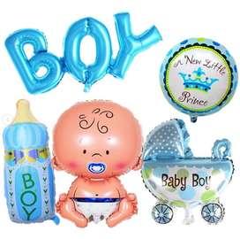 Decoración surtida para baby shower
