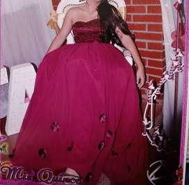 Alquiler vestido para quinceañera