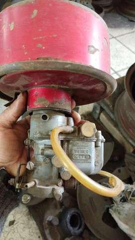 Carburador y filtro Citroen 3cv