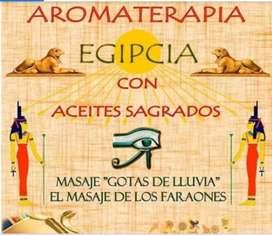 Masajes Egipcios y Aromoterapia