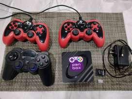 Consola play 1, play 2, xbox, etc. mas memoria de 32 GB mas controles