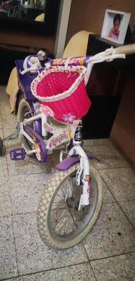 Bicicleta para Niña Mujer Monarck