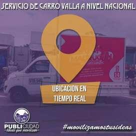 Carro Valla a Nivel Nacional