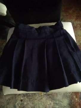 Regalo falda para colegio 6 de abril para niña de 4 a 6 años