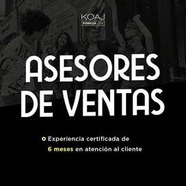 ASESOR DE VENTAS