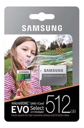 Microsd Samsung Evo Select 512gb Clase10 U3 4k