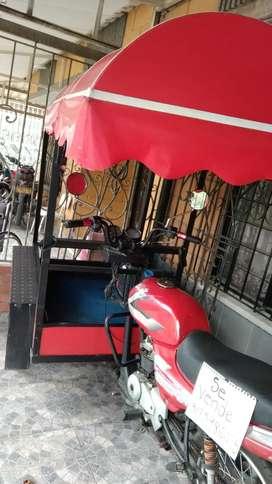 Moto triciclo para trabajar