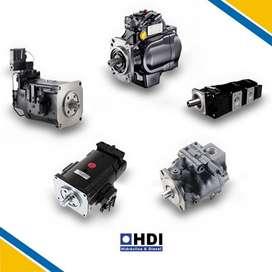 Bombas y motores hidráulicos para maquinaria pesada | Parker, Danfoos, Rexroth para Retroexcavadoras