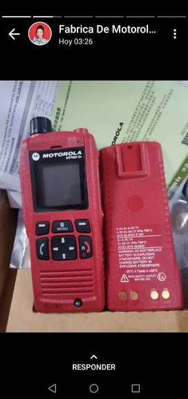 Radio antiexplosivo Marca Motorola Mototurbo
