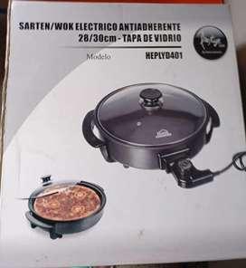 Sartén wok antiadherente home elements