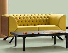 Sofá capitoneado moderno diseño único