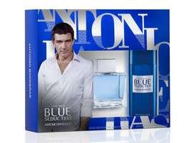 Estuche Antonio Banderas Blue Seduction 100ml Hombre Eros