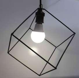 Lámpara Colgante Cubo 01