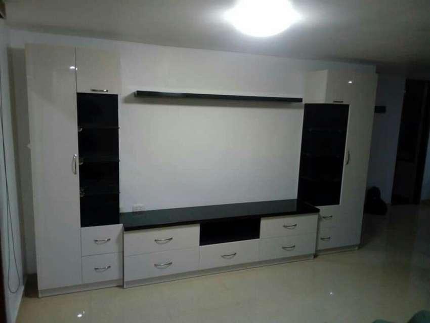 Fabricacion Instalacion de Mueble Tv Rh