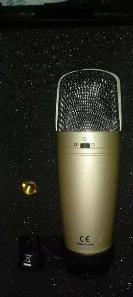 Micrófono Behringer C-3 Dorado totalmente nuevo, REMATE.