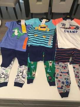 Pijamas 3 piezas