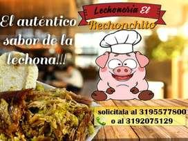 Venta de Lechona Al X Mayor Y Empanadas
