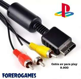 Cable audio y video ps1 y ps2