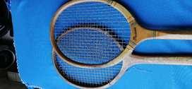 """Raquetas de tenis """"retro"""" antiguas"""