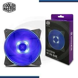 COOLER DE CASE COOLER MASTERFAN MF120L BLUE LED