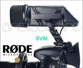 A64 Microfono Rode Svm Stereo Videomic Dsrl Shotgun