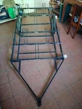 Trailer para bicicletas hasta 29´ x5