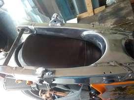Tjera de Aluminio para Xt 500
