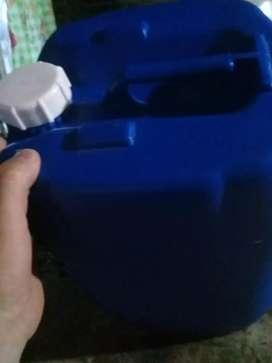 Bidones apilables de 20 ¡litros