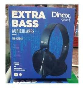 Auriculares EXTRA BASS Dinax
