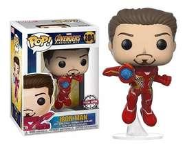 Funko Pop Iron Man Avengers Infinity War Exclusivo