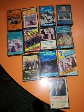 Lote de cassettes folklore