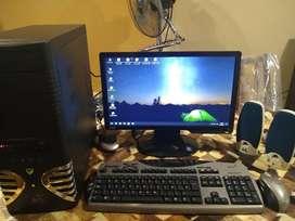 Computadora completa + Monitor Led