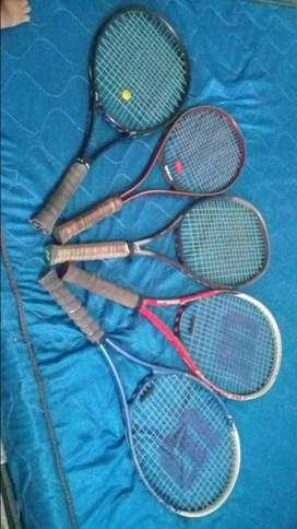 Raquetas marca wilson power