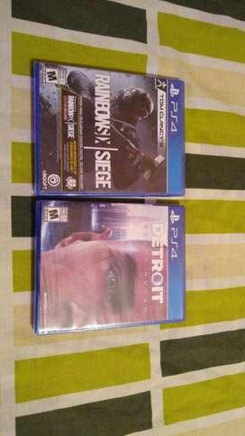 Vendo juegos de PS4 Nuevos de promocion!!