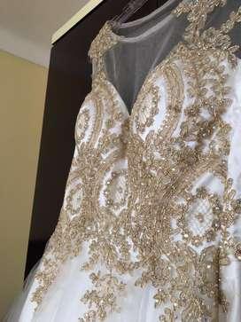 Vestido de gala Importado