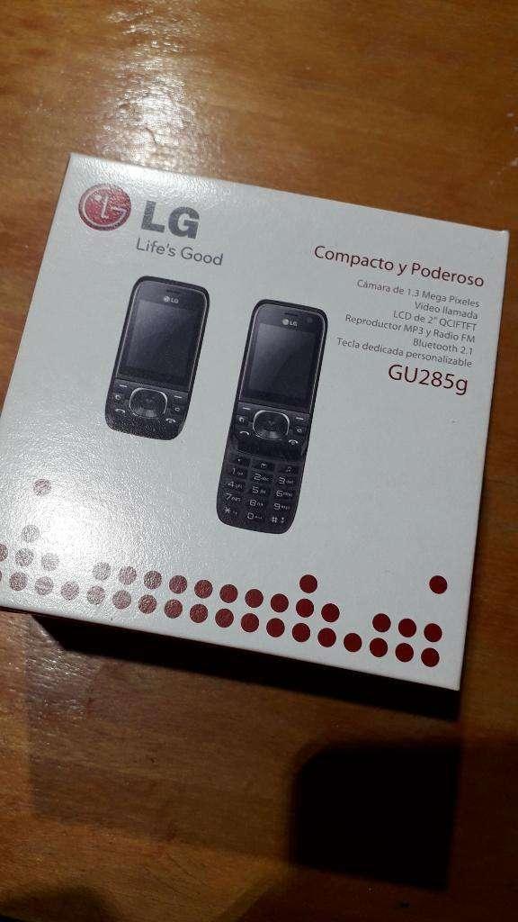 Celu Lg Modelo Gu285g. Nuevo 0