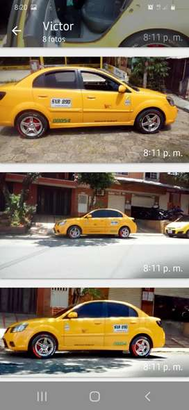 Taxi Kia sepia excelente estado