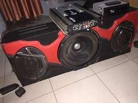 Cabina de sonido para carro