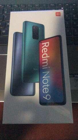 Note 9 y Redmi 9c