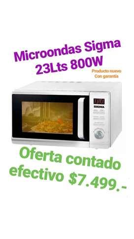 Microondas Sigma 800W