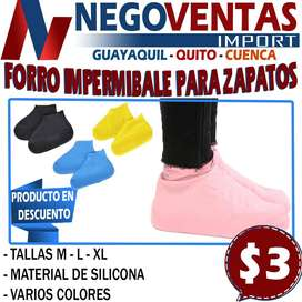 FORRO DE ZAPATOS IMPERMEABLES