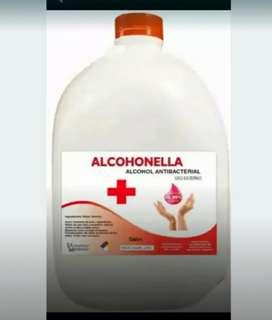 Alcohol por galón