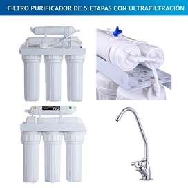Filtro para purificacion de agua
