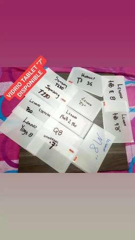 """VENDO VIDRIOS TEMPLADOS PARA TABLET DE """"7"""" , """"8"""" Y """"10"""" PULGADAS"""